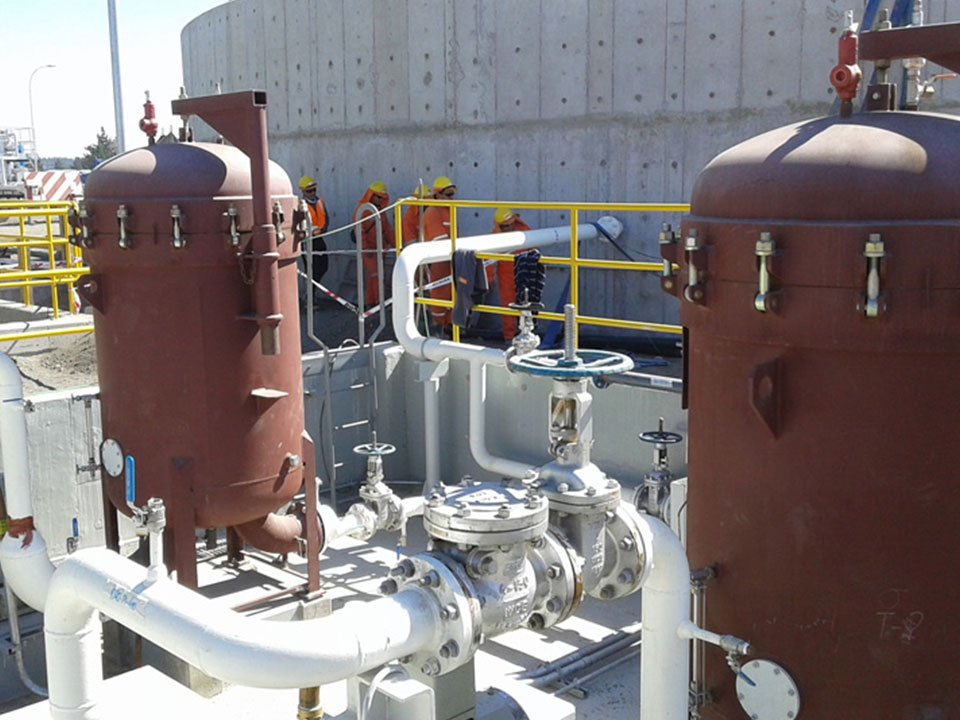 Peco filtration and separation vessels
