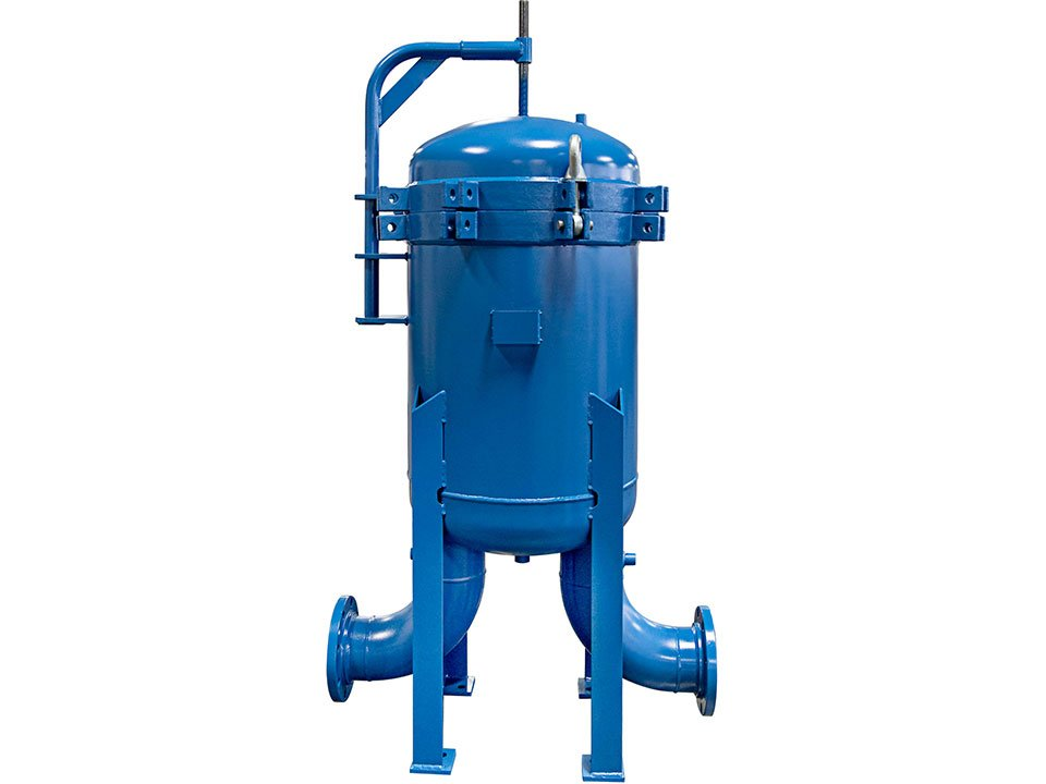 Filtration and separation tank