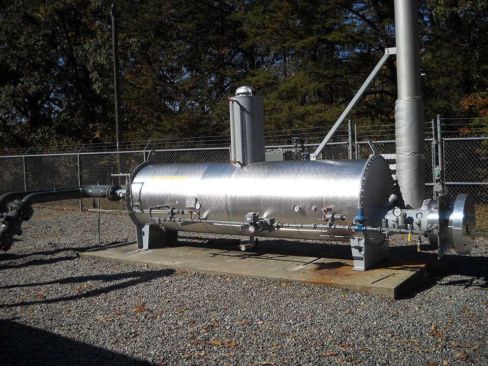 Industrial Flow Control Tank