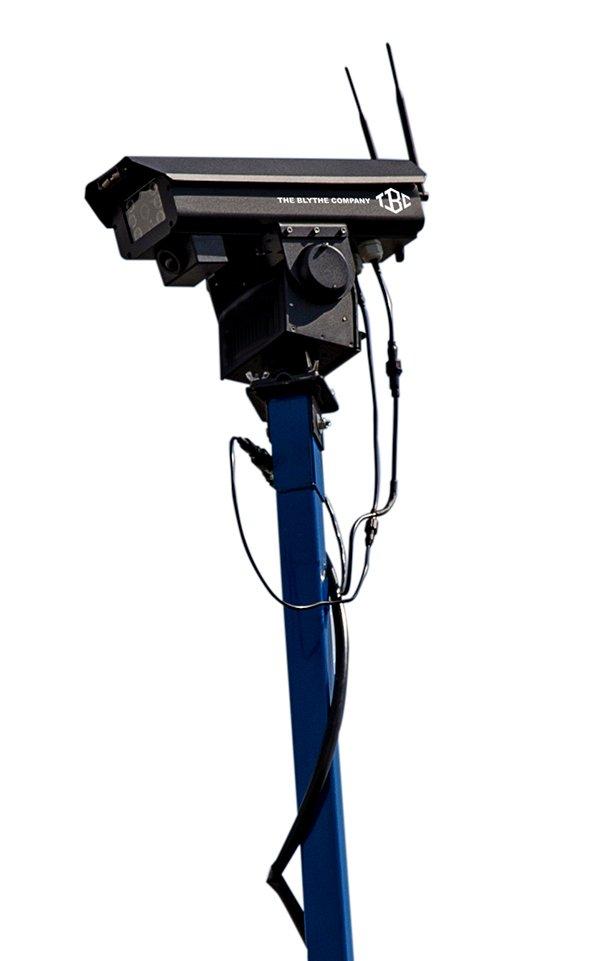 Solar-Powered Surveillance Cameras