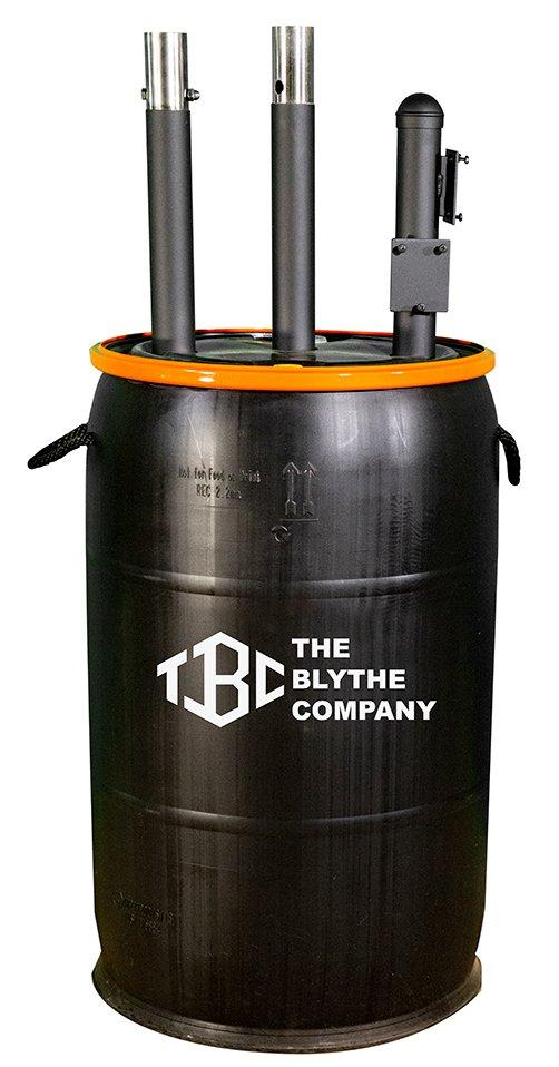 Security Camera Support Barrel