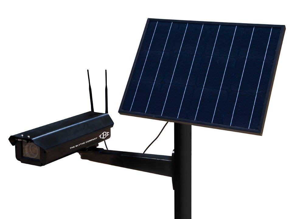 Mega Solar-Powered Surveillance Cameras