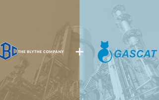 The Blythe Company partnership with GasCat